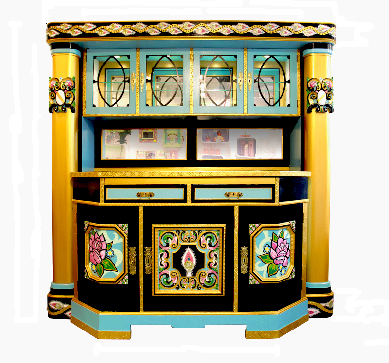 PALAIS ROYAL Dining room cabinet with columns