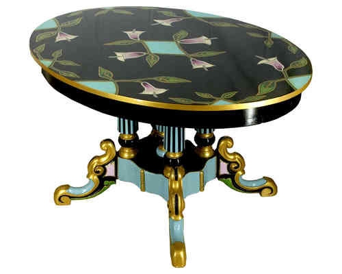 "Loving Colors coffee table ""Art Deco Calla"""