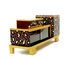 "Beauty-Sideboard ""LEO"" with full-length Mirror"