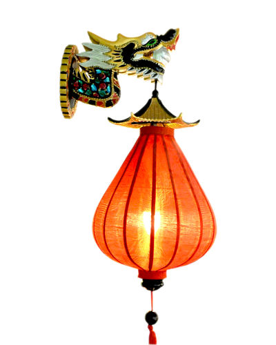 "Antike Wandlampe ""Dragon"""