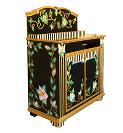 Painted furniture - Functional Art